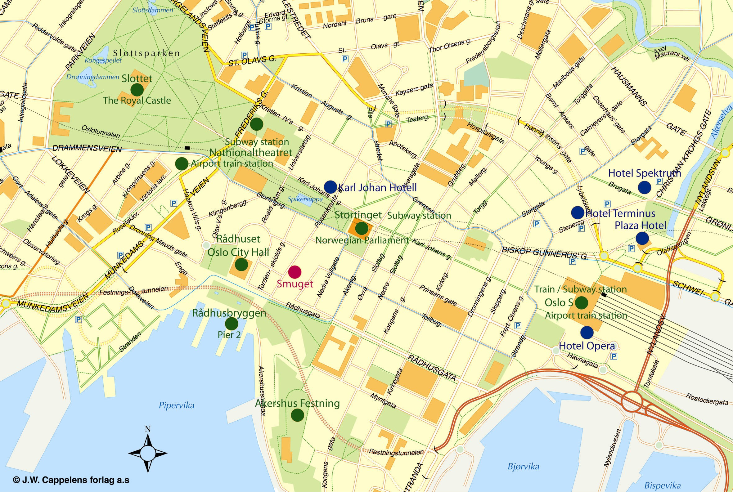 Euram 2006 Home MAP OF OSLO